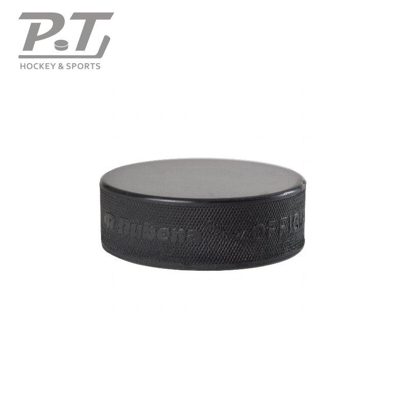 5x Eishockey Pucks schwarz