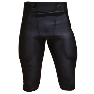 American Football Lycra Stretch Game Pant, Black M