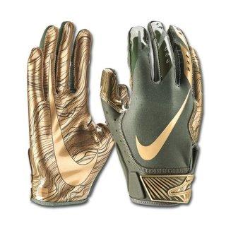 outlet boutique new list huge inventory Nike Vapor Jet 5.0 Glove, Olive/Metallic Gold