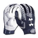 Under Armour F6 Glove Youth,  Navy/White