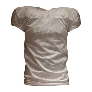 Football Practice Jersey, Short Cut, White XXS