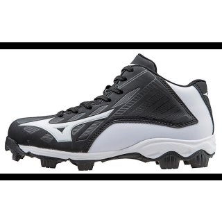 Mizuno 9-Spike ADV Youth Franchise 8 Mid Molded