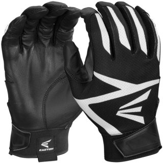 Batting Gloves Easton Z3 Youth Black/Black Youth M