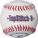 Covee/Diamond TopStitch Nylon Softball 9 white