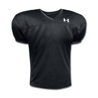 UnderArmour Pipeline Jersey - Black- YOUTH