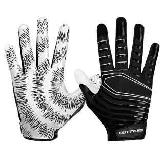 Cutters S252 REV 3.0 Receiver Glove YOUTH  - BLACK