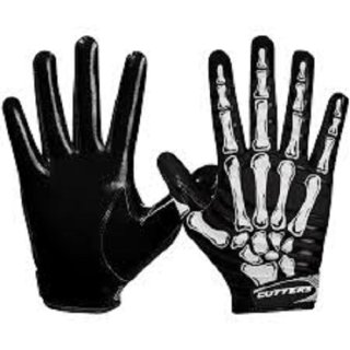 Cutters S252 LIMITED EDITION  Receiver Glove Senior - ANGRY SKULL