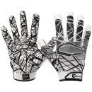 Cutters S150 Game Day Receiver Glove - Youth - White